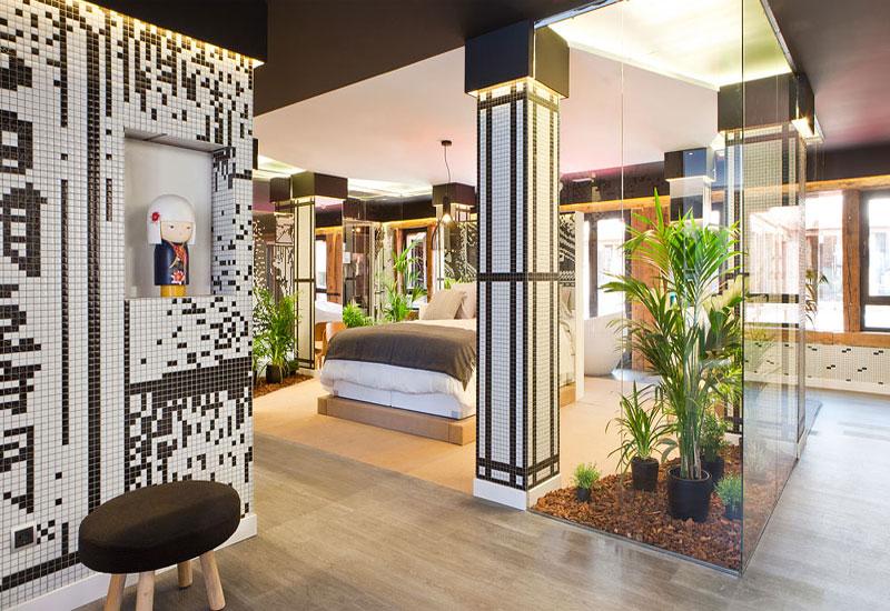 Description: bedroom Zen garden decorating houseplants