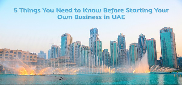 5 Factors You Need to Consider Before Starting Your Own Business in UAE!