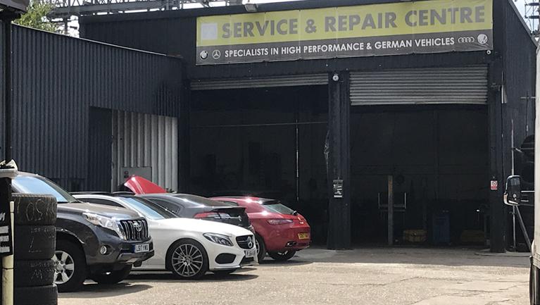 car garage london