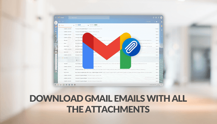 Download Gmail Email with all the attachments