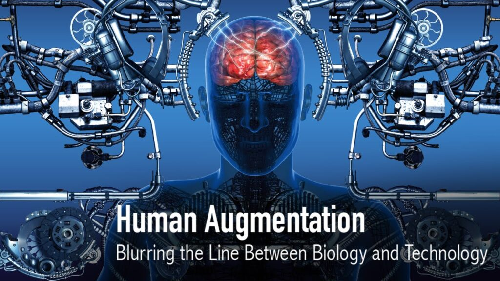 Description: Human Augmentation: Blurring the Line Between Biology & Technology - YouTube