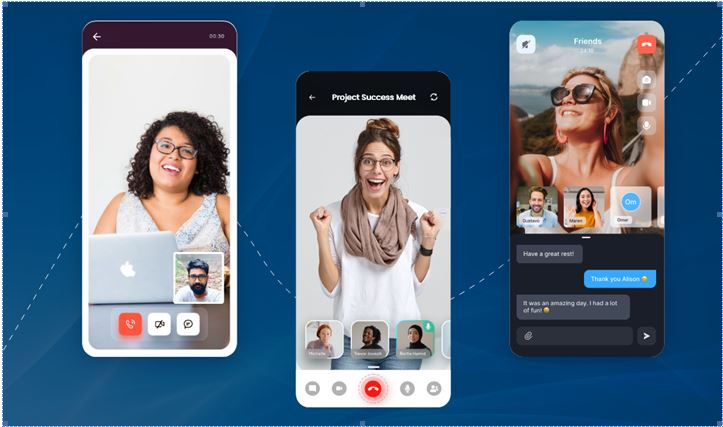 live video chat app