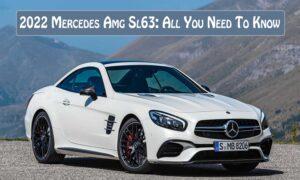 2022 Mercedes Amg Sl63